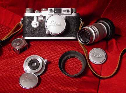 The first Leica IIIg in production