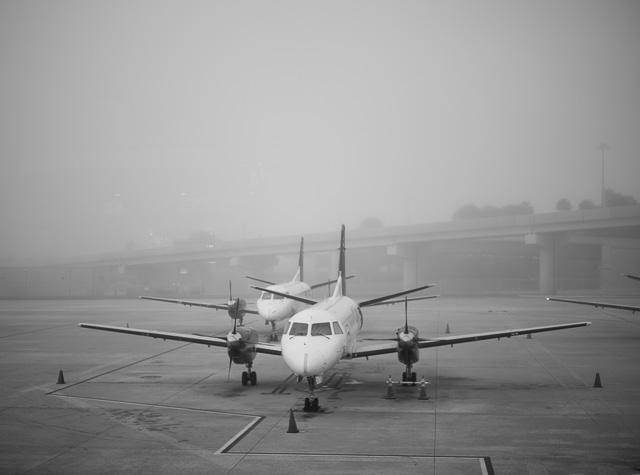 Grounded in Florida due to fog. Leica M10 with Leica 50mm Summilux-M ASPH f/1.4 BC.