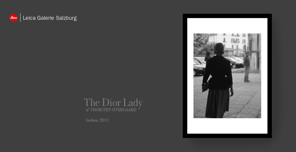 The Dior Lady
