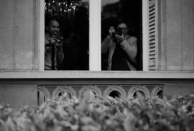 Leica shooters have spotted a fellow Leica shooter