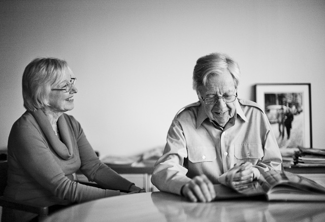 DeeAnne and Don Hunstein by Thorsten von Overgaard