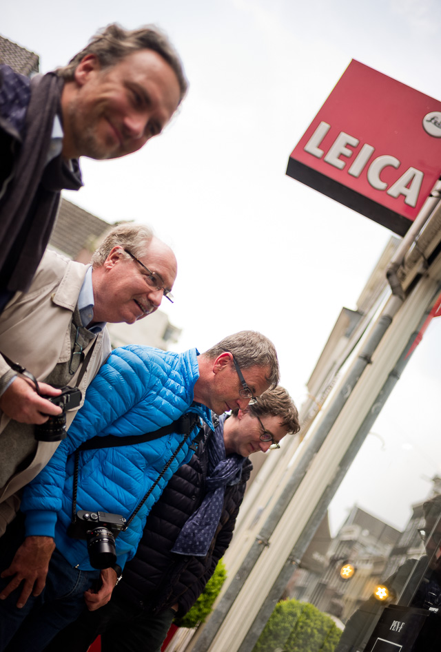 Visiting the Leica pusher in Amsterdam. © 2017 Thorsten Overgaard.