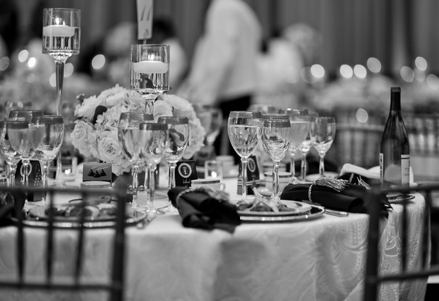 Tables decorated with chocolate treats curtesy of the president. Leica M10 with Leica 75mm Noctilux-M ASPH f/1.25. © 2018 Thorsten von Overgaard.