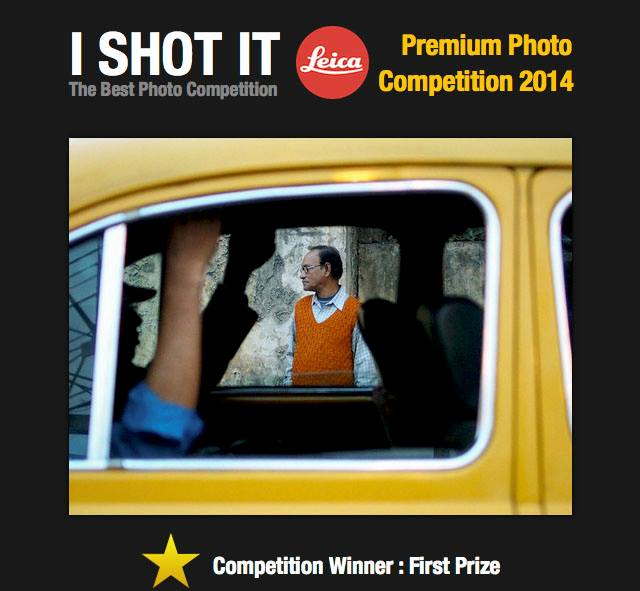 The winner of the I SHOT IT.COM competition, 1st Quarter 2014