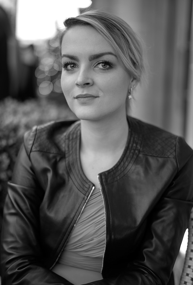 My beautiful daughter Caroline (in a Matteo Perin jacket). Leica M10-P with Leica 50mm Summilux-M ASPH f/1.4 BC. © Thorsten Overgaard.
