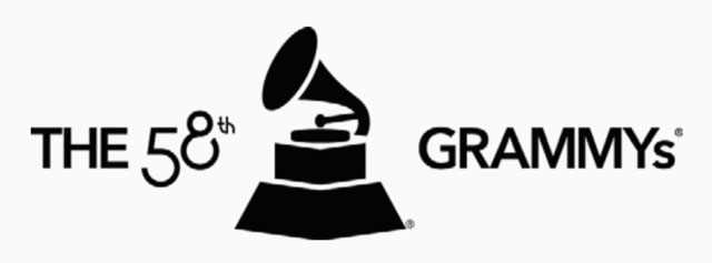 The 58th Grammy's Logo 2016