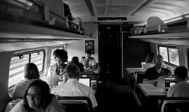 Amtrack train to DC from NYC. Leica M10 with Leica 35mm Summilux-M AA f/1.4. © 2017 Thorsten Overgaard.