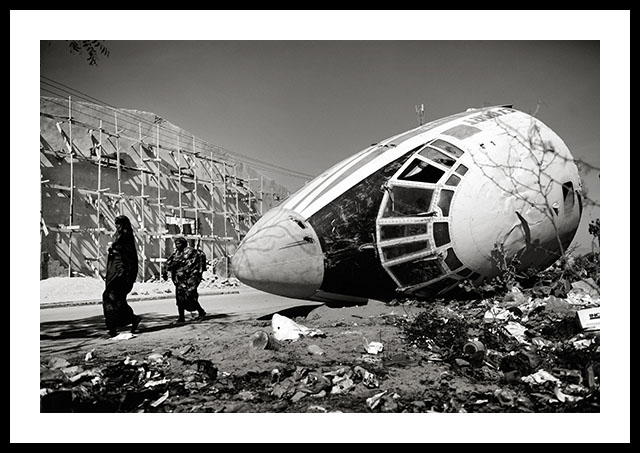 Mogadishu Plane Crash by Jan Grarup (2012)
