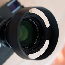 How to mount a filter  on the Leica 50mm Summilux-M ASPH f/1.4 Black Chrome  Yo