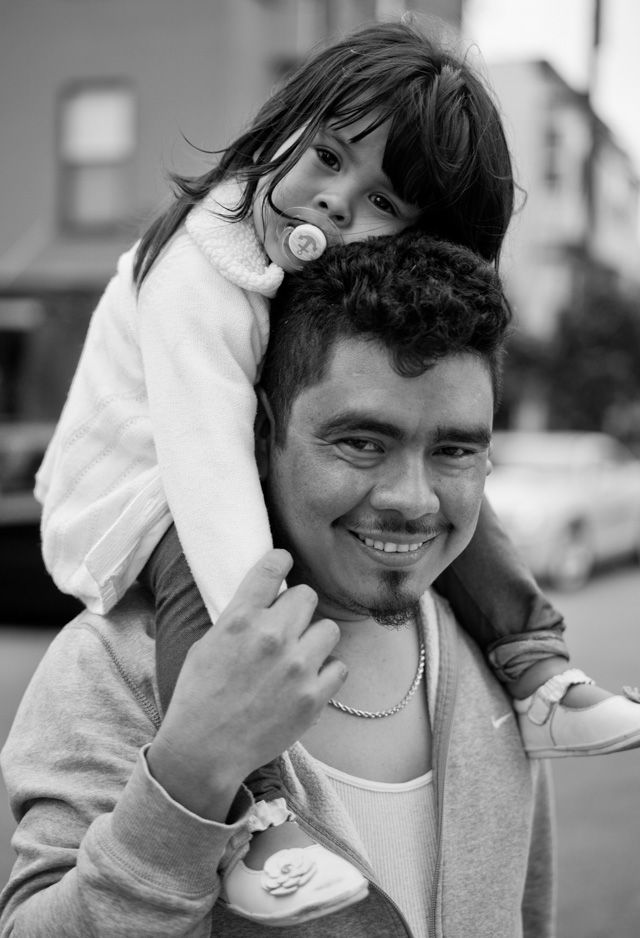 Father and daughter in San Francisco. Leica M-D 262 with Leica 50mm APO-Summicron-M ASPH f/2.05. © 2016 Thorsten Overgaard.