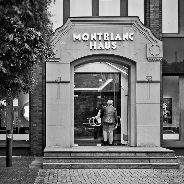 The Mont Blanc worldwide headquater is in Hamburg, Germany. © 2016 Thorsten Overgaard.