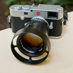 #E60-7514 Black ventilated shade for Leica 75mm Summilux-M f/1.4