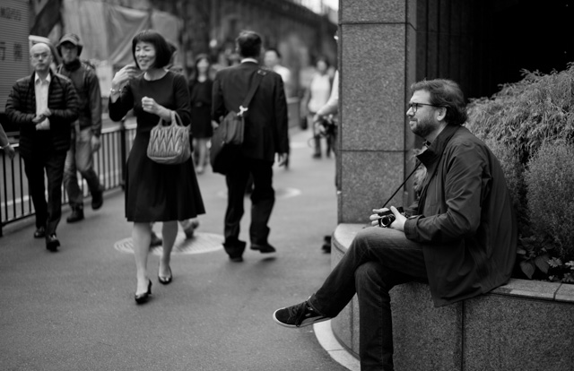 Jeff Cornejo in Tokyo. Leica M-D 262 with Leica 50mm Summilux-M ASPH f/1.4 Black Chrome. © 2016 Thorsten Overgaard.