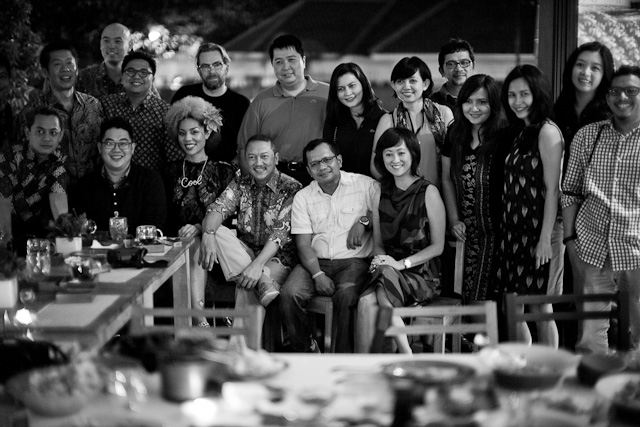 Our friends in Jakarta. A meetup of Leica freaks that also happen to enjoy fancy shirts.