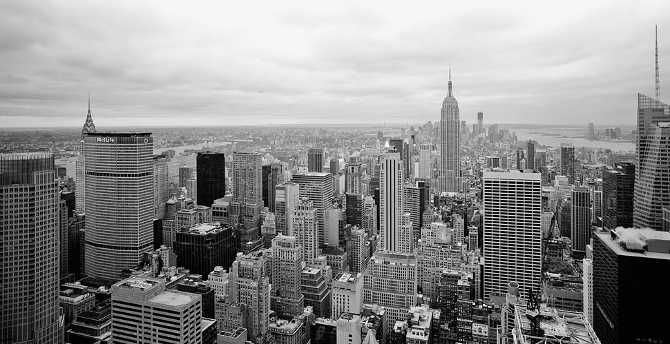 Photographing the New York skyline by Thorsten Overgaard