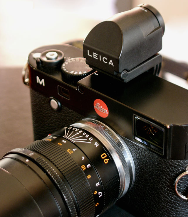 The OUFTO on Leica M Type 240