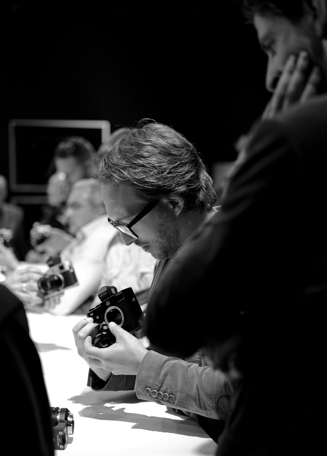 Leica M 240 at Photokina 2012 © Thorsten von Overgaard