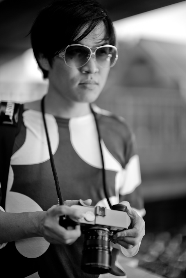 One of the things you must also get for your Leica M 240 is a cool attitude. As Joe Nattapol Suphawong here in Bangkok.