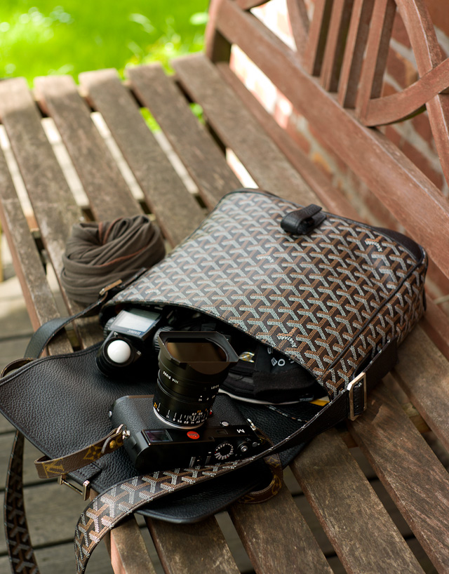 Thorsten Overgaard's Goyard photo bag