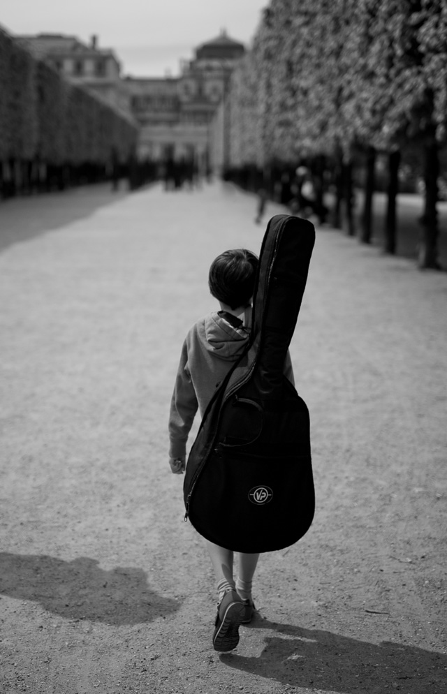 Young boy with his instrument. Leica M9 with Leica 50mm APO-Summicron-M ASPH f/2.0. © 2016 Thorsten von Overgaard