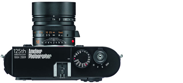 a specially made Leica M9 to mark the 125th year of publication of Amateur Photographer