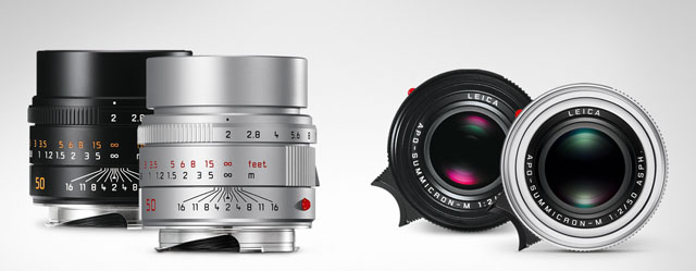 From July 2016 the Leica 50mm APO-Summicron-M ASPH is also available in silver.