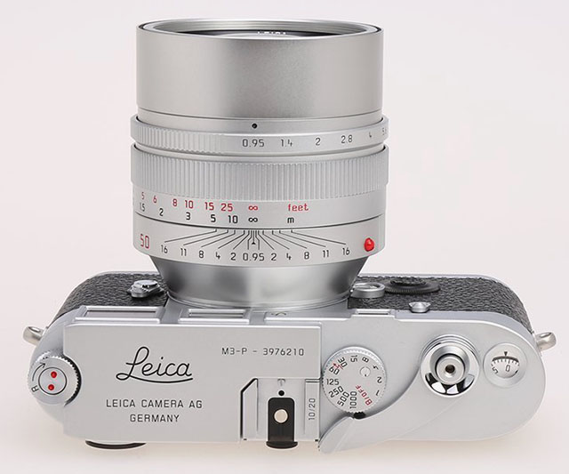 A beauty to behold: The Leica M3-P is a limited run of 20 cameras made for Leica Shop Vienna in 2012. Photo: lhauction.com.hk
