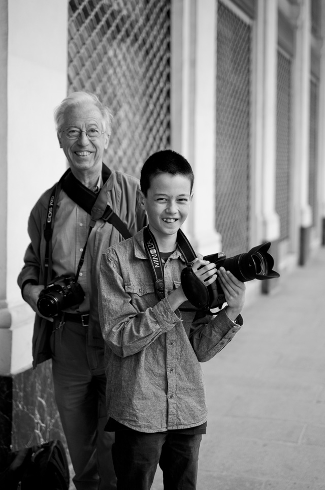 Paris, May 2016. I met a young boy and his granddad out photographing. Leica M9 with Leica 50mm APO-Summicron-M ASPH f/2.0. © 2016 Thorsten Overgaard.