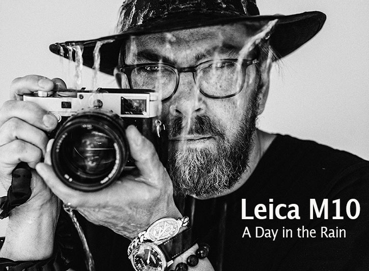 Page 3: Leica M10 in the rain
