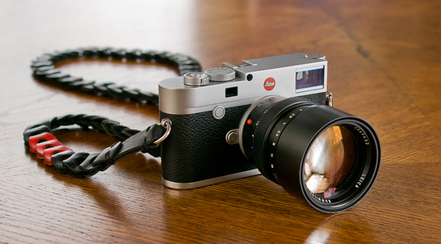 "Leica M10 with the new slimmer ""Rock'n'Roll"" strap from Tie Her Up, made for the Leica M10. Here it's with the Leica 75mm Summilux-M f/1.4. © 2017 Thorsten Overgaard. Leica TL with Leica 35mm Summilux-TL ASPH f/1.4."