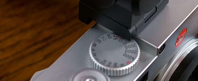 "The EVF covers my shutter speed dial: I stumble to find words for this ""design obstruction"". It's not how I expect a Leica M to look and work. © 2017 Thorsten Overgaard."