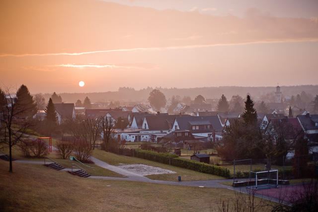 Sunrise in Wetzlar, Germany. Leica M10 with Leica 50mm Noctilux-M ASPH f/0.95 FLE. © 2017 Thorsten Overgaard.