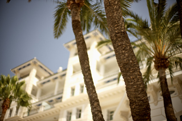 Grand Hotel Miramar, Malaga. They clearly thought I was a terrorist, taking photos of the hotel. I walked casually faster than the security, so I escaped. Leica M10-P with Leica 50mm Noctilux-M ASPH f/0.95 FLE. © Thorsten Overgaard.