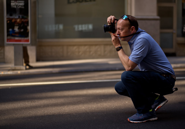 Brad out and about with the Leica Q2. Leica M10-P with Leica 50mm Summilux-M ASPH f/1.4 BC. © Thorsten Overgaard.