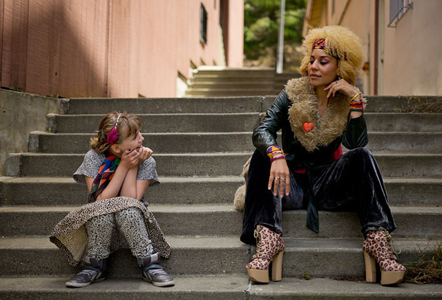 Robin Isabella von Overgaard and Joy Villa acting as models, July 2014.