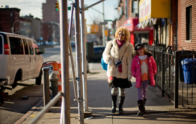 Joy Villa and Robin in Brooklyn. Leica M 240 with Leica 50mm Noctilux-M ASPH f/0.95.