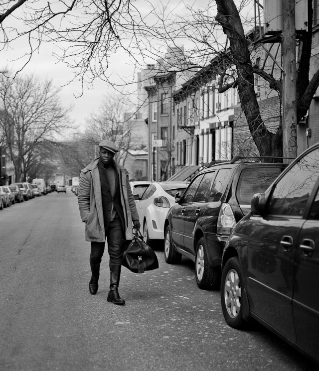 Stranger in Brooklyn, New York. January 2015. Leica M 240 with Leica 35mm Summilux-M ASPH f/1.4.