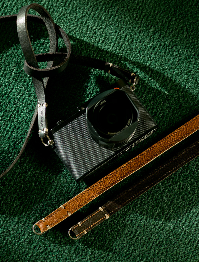 Riviera camera straps from Tie Her Up