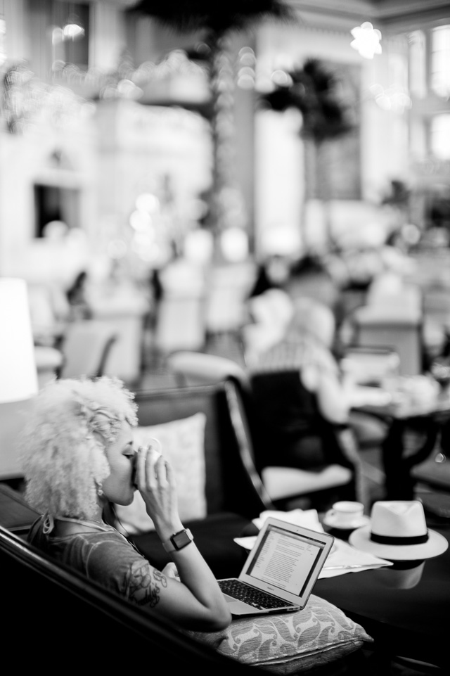 The Manila visit was our first and gave us a day off to handle e-mail and more. Here we're in the center of the APEC at The Peninsula Hotel, the day Obama was in Manila as well. Leica M 240 with Leica 50mm Noctilux-M ASPH f/0.95.