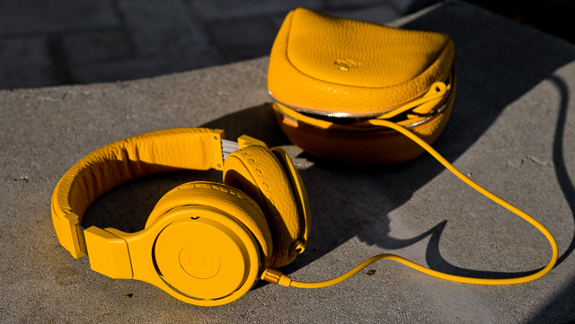 My Beats x Fendi Pro Headphones. It's fashion porn. It's the headphones I love the most, not for comfort, but for how special they are.