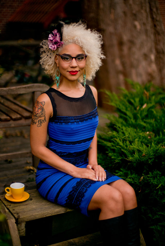 "Princess Joy Villa in #TheDress by Roman Originals. Leica M 240 with Leica 50mm Noctilux-M ASPH f/0.95. 8700 Kelvin. 800 ISO and 1/90th second at f/0.95 during the ""blue hour"" after sunset."