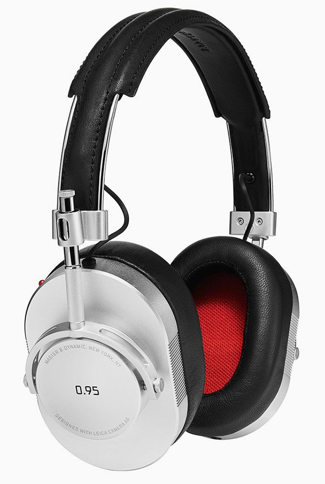 Master of the Universe headphones from Master & Dynamic. Made in the USA.