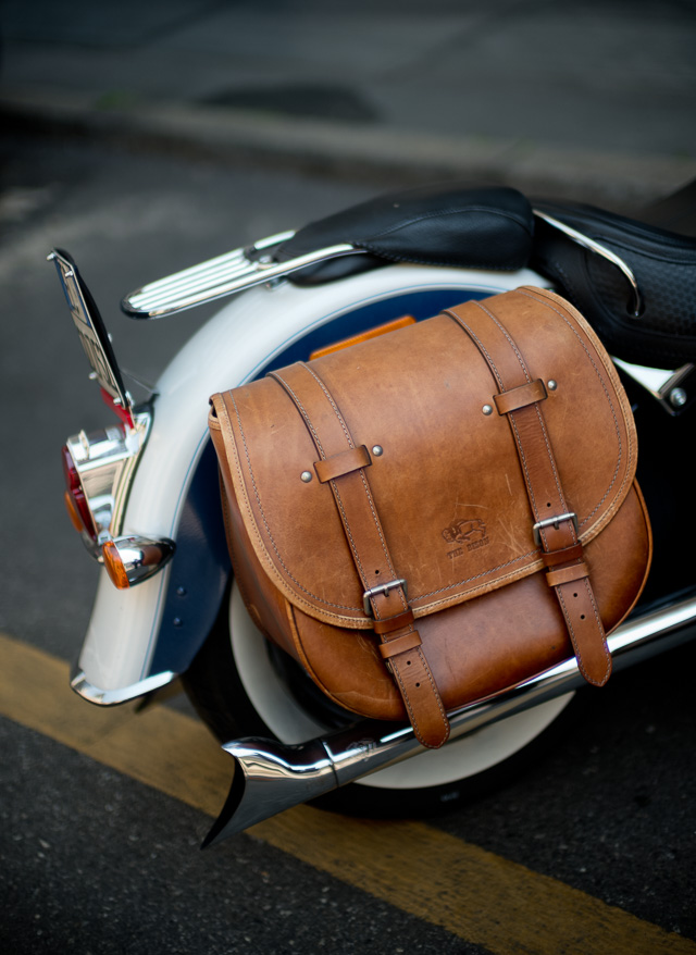 It might not be the most practical camera bag, but it does look and sound very cool to have a Harley as part of your camera acessories.