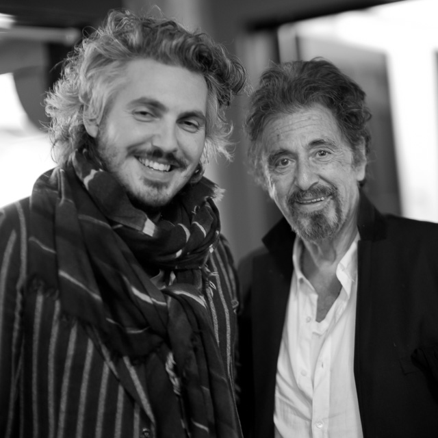 Matteo Perin and I went see Al Pacino amnd had a chat backstage. Leica M10 with Leica 50mm Noctilux-M ASPH f/0.95. © 2017 Thorsten Overgaard.