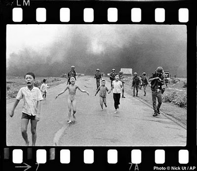 """Napalm girl"" by Huynh Cong 'Nick' Ut of Associated Press"