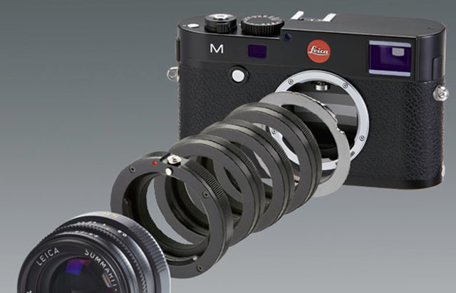 Flexible and leightweight: The Novoflex Extension tube set Leica M (model LEM/VIS II) is €249 from Novoflex or $379 from BH Photo.