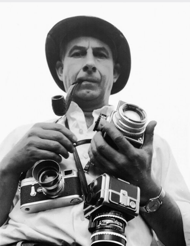 Robert Frank (1924-2019) was a famous American reportage photographer ... and much more. He used a range of cameras and motion film cameras, and of course also his Leica.