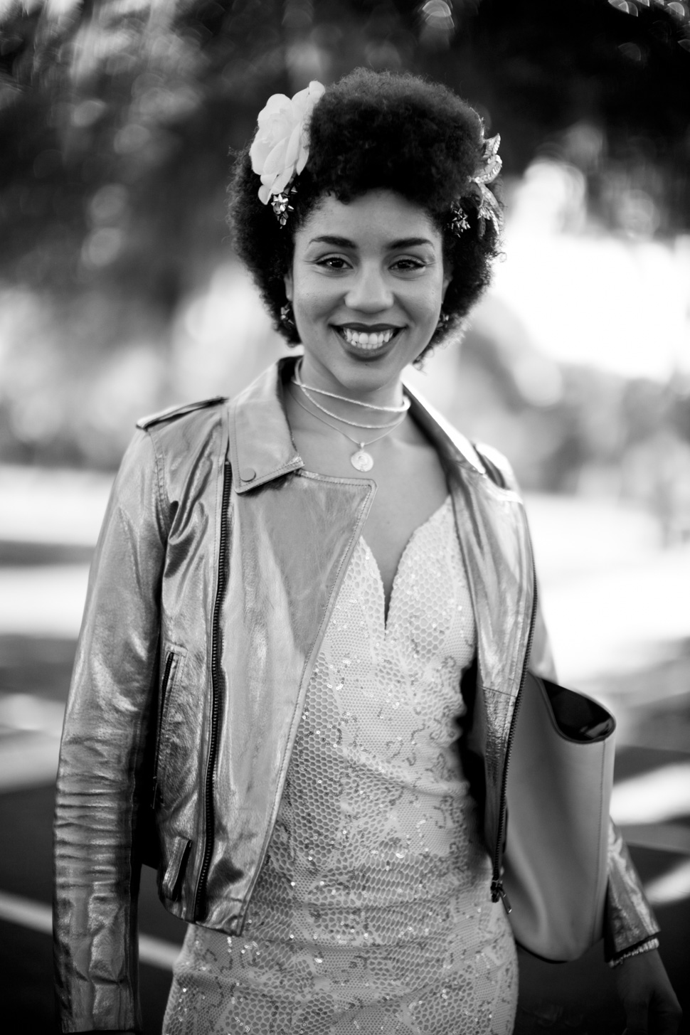 "Joy Villa: ""No, this is not my wedding dress. This is just another dress."" Leica M 240 with Leica 50mm Noctilux-M ASPH f/0.95."