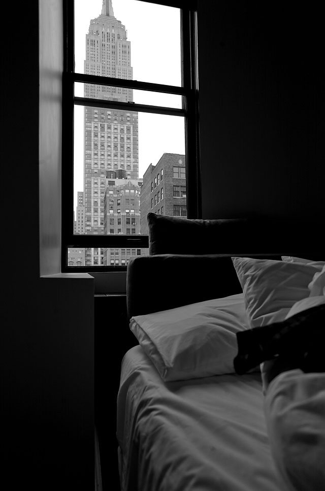 ACE Hotel in New York with Empire State by Thorsten Overgaard