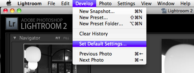Select Default Settings in the Develop menu for the Lighroom 2.6rc so as to make sure all future imports are with this new Adobe Standard profile. For previous imported images the default Embedded profile in the DNG file will be the one you had then; so if you used Leica M9 Generic Profile, that's the one and then you have to change older imported pictures Profile in Camera Calibration (which is in the bottom of the right hand menu):